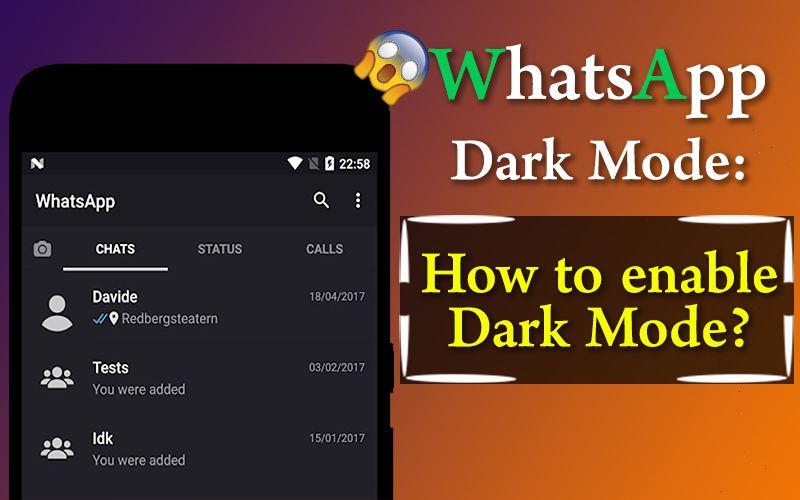 WhatsApp Dark Mode: How To Enable Dark Mode In WhatsApp